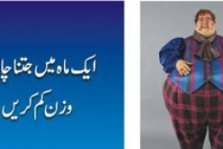 Quick & Fast Way to lose Weight in Urdu for Men, Women