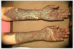 Rajasthani Bridal Mehndi Designs for Full Hands