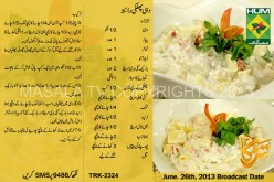 Ramadan Recipe for Iftar in Urdu 2013 Dahi Phulki Raitab Ramzan
