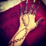 Simple Eid Mehndi Designs 2014 For Hands Images Pakistani Indian