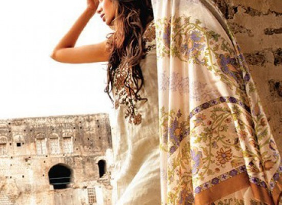 Sana Safinaz Lawn Spring & Summer Collections 2013