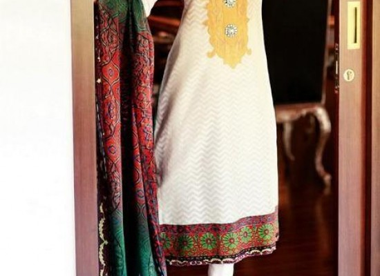 Riffat & Sana Silk, Cotton, Net Summer Collection 2013