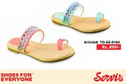 Servis Shoes Eid Summer Collection 2014 for Kids with Prices