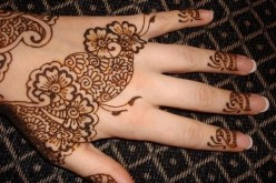 Simple Arabic Eid 2013 Henna Mehndi Designs For Hands Pakistan