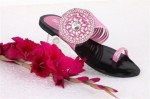 stylo shoes designs collection 2013 pink flats slippers 150x99 Stylo Shoes Flats Slippers 2013 for Girls and Women