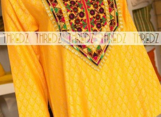 Thredz Winter Collection 2014 New Arrivals Kurta for Women
