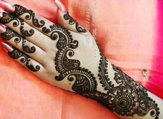 Top Pakistani Henna Mehndi Designs For Girls Hands 2014