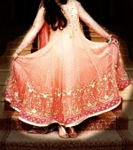 umbrella bridal frocks 150x169 Latest Pakistani Bridal Dresses Collection 2014 for Walima