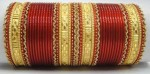wedding churian bridal bangles 004 150x74 Gold Diamond Bangle with Stones for Wedding Party 2013 Pics