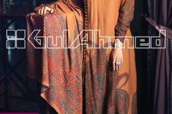 Gul Ahmed Winter Collection 2013 2014 form Magazine