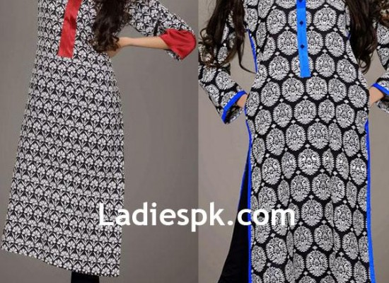 Girls Kurta SILK By Fawad Khan with Prices 2013 for Winter