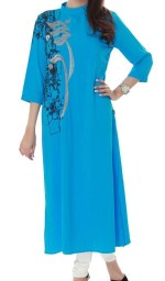 women stylish girls kurta collection 2013 150x256 New Kurta Churidar Designs For Women & Girls