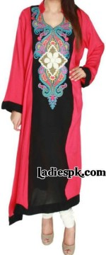 womens kurta fashion in pakistan and india 2013 summertrendy long kurtis style choori pyjama 150x360 Latest Girls Kurta Style Fashion 2013 in Pakistan India